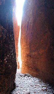 Larger image in new window.  Echidna Gorge in the Bungle Bungles